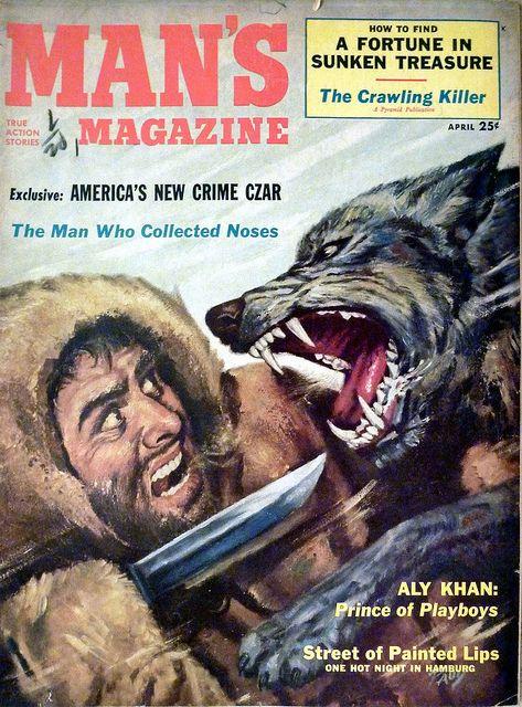 Man S Magazine April 1953 Www Menspulpmags Com In 2020 Male