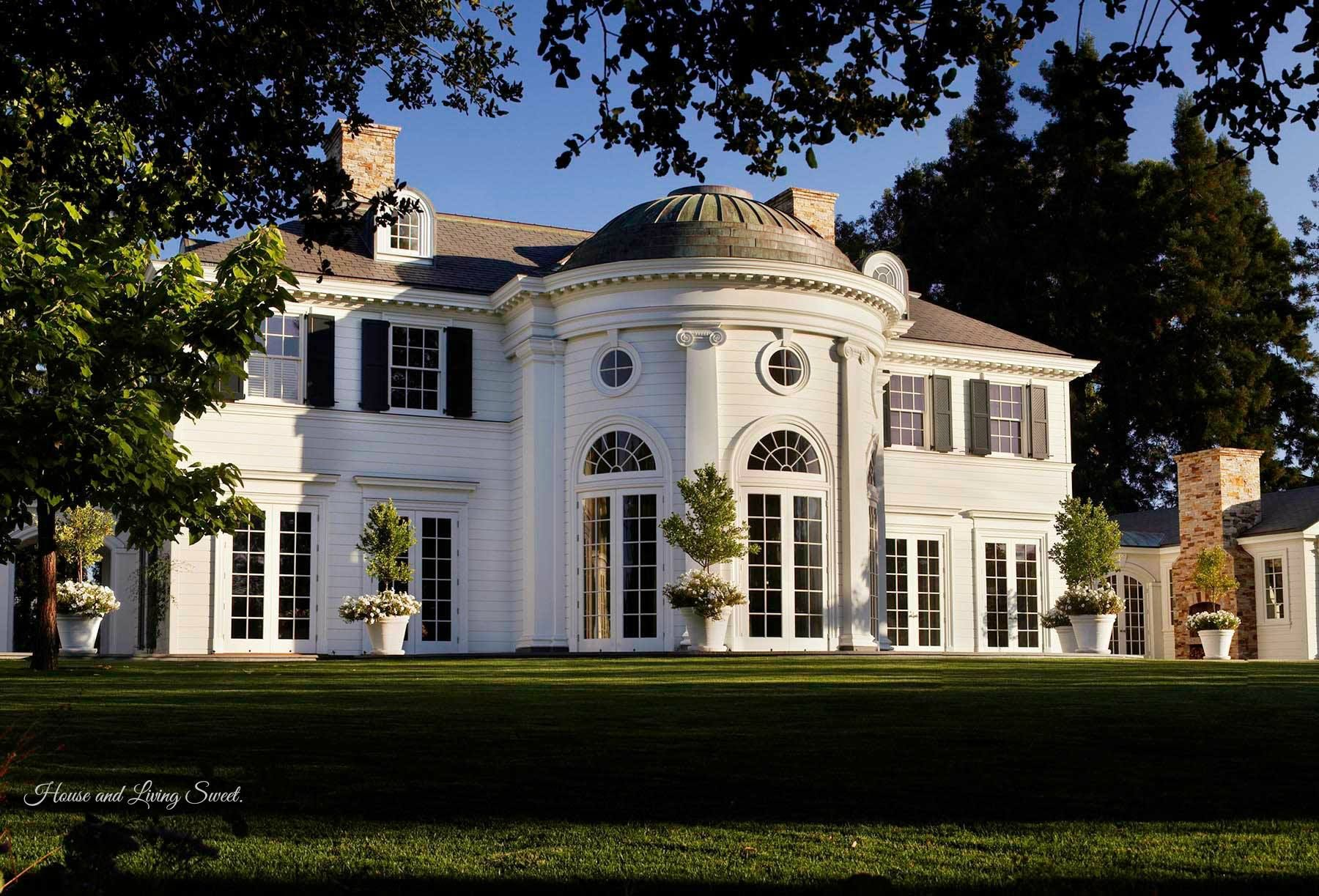agreeable beautiful homes in california. Mountain Home Road  Woodside California An American Estate with Jeffersonian architecture Architecture