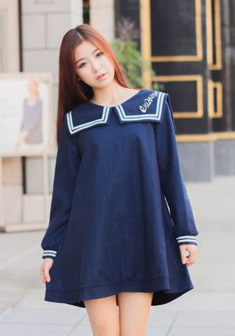 korean navy Sailor fashion - ค้นหาด้วย Google