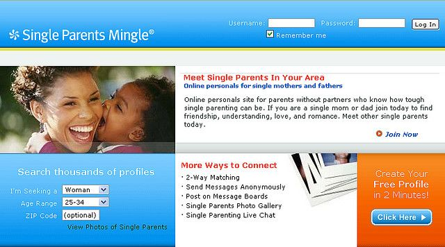 single parenting dating websites