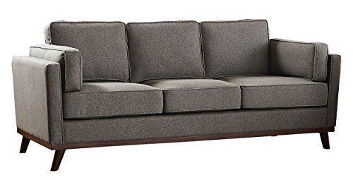 galileo cream microfiber queen sleeper sofa how to shampoo a homelegance bedos 84 fabric upholstered gray homel https