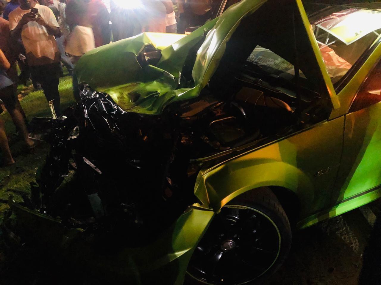 Mercedes Benz C63 Amg Legacy Edition Crashed Into A Police Car In Witbank Mercedes Benz C63 Amg Mercedes Benz C63 Police Cars