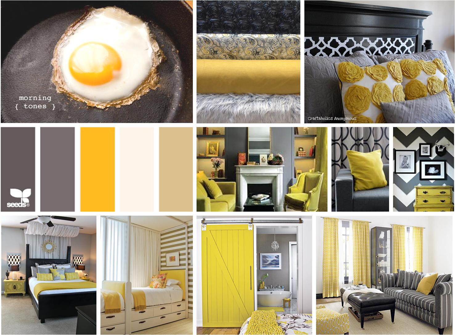 Color love yellow color palettes gray kitchens and Interior design color palettes