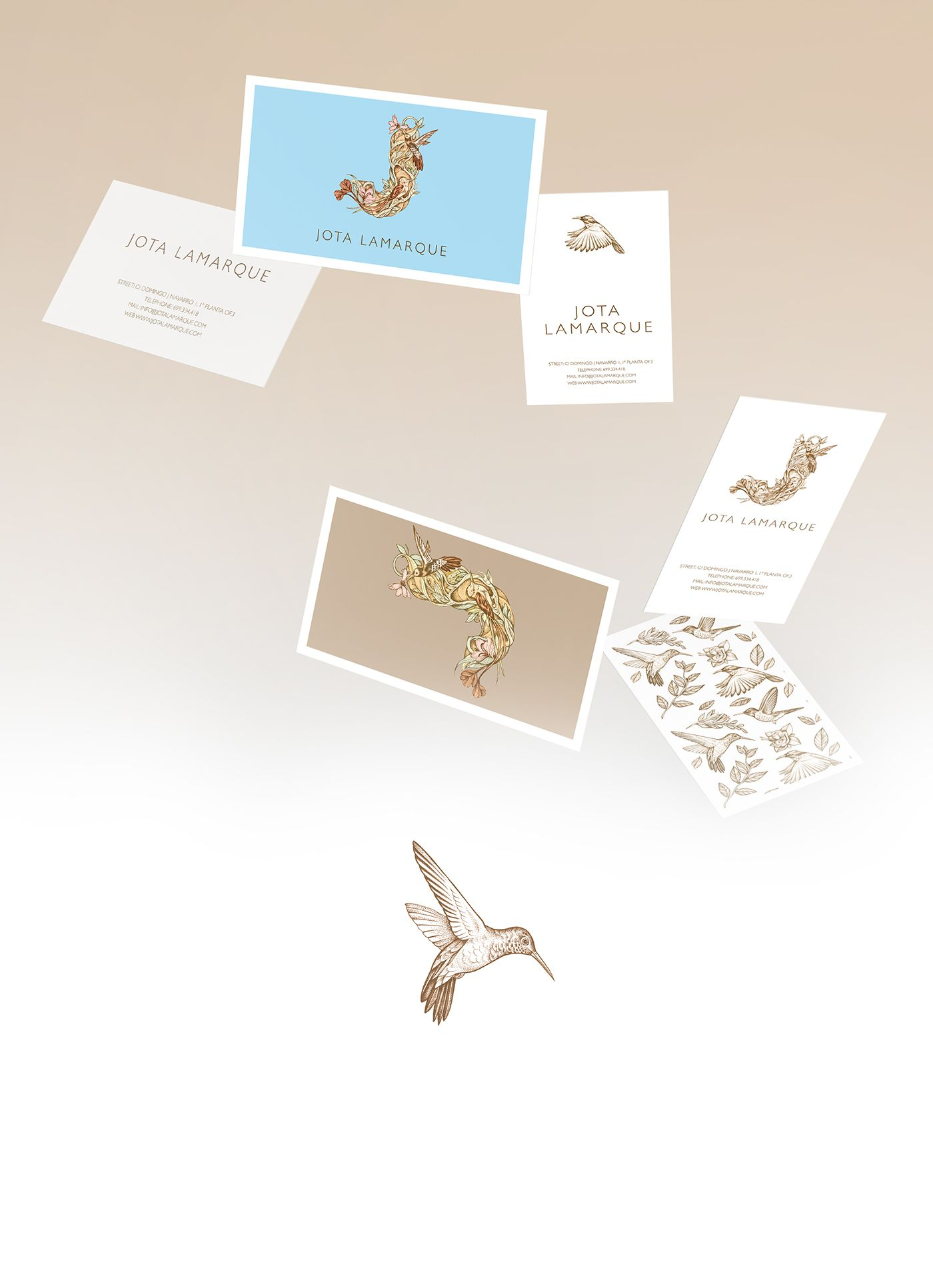 Branding for spanish photographer Jota Lamarque Graphic
