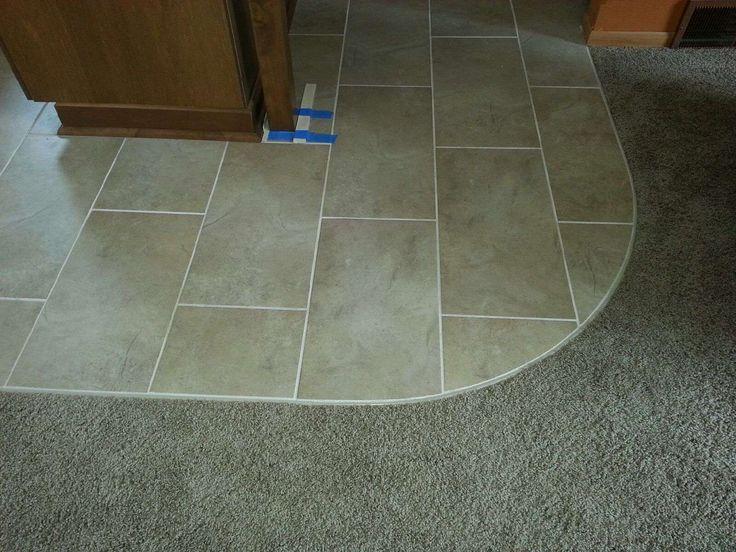 New vinyl tile to carpet transition - Google Search | Floor Vinyl  FU78