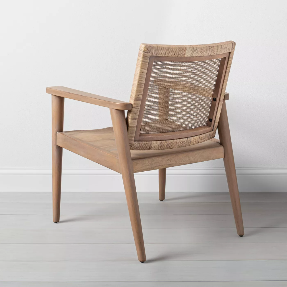 Wood Cane Accent Chair Hearth Hand With Magnolia Accent Chairs For Living Room Accent Chairs Target Chair