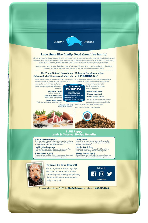 Blue Buffalo Life Protection Formula Natural Puppy Dry Dog Food Lamb And Oatmeal Protection Formula Natural Blue Ad With Images Dry Dog Food