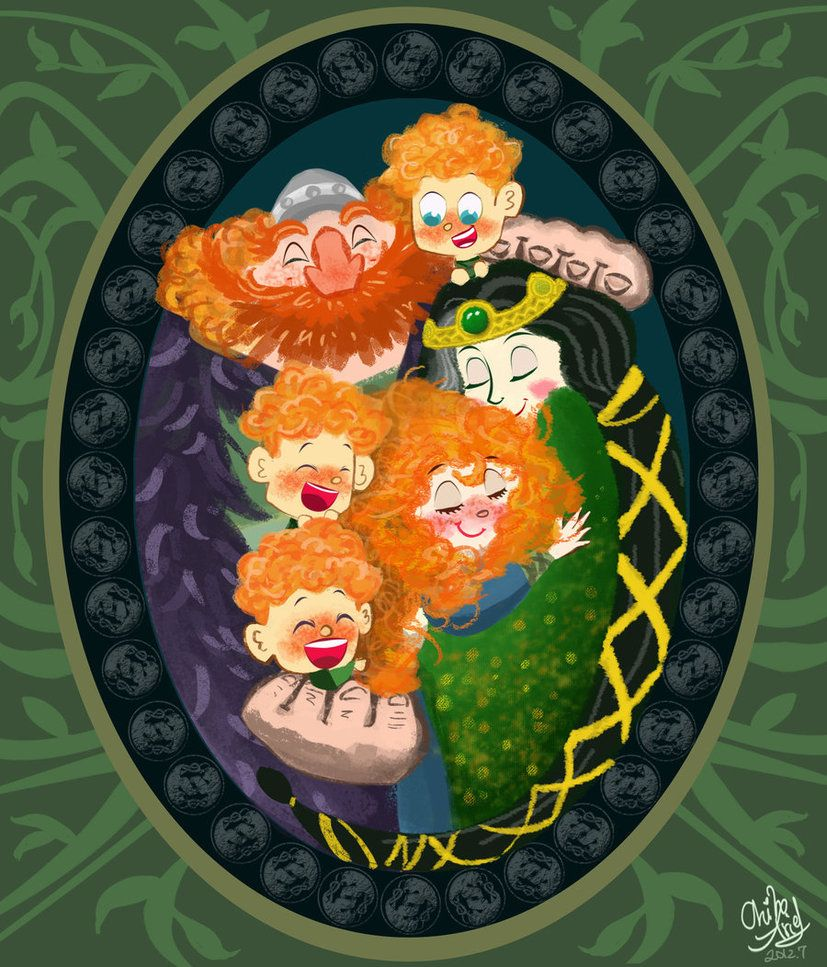 Brave-One Family by ~ChihAriel