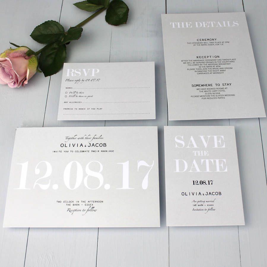 Modern Traditional Wedding Invitation Classic Wedding Invitations Fun Wedding Invitations Modern Wedding Invitations