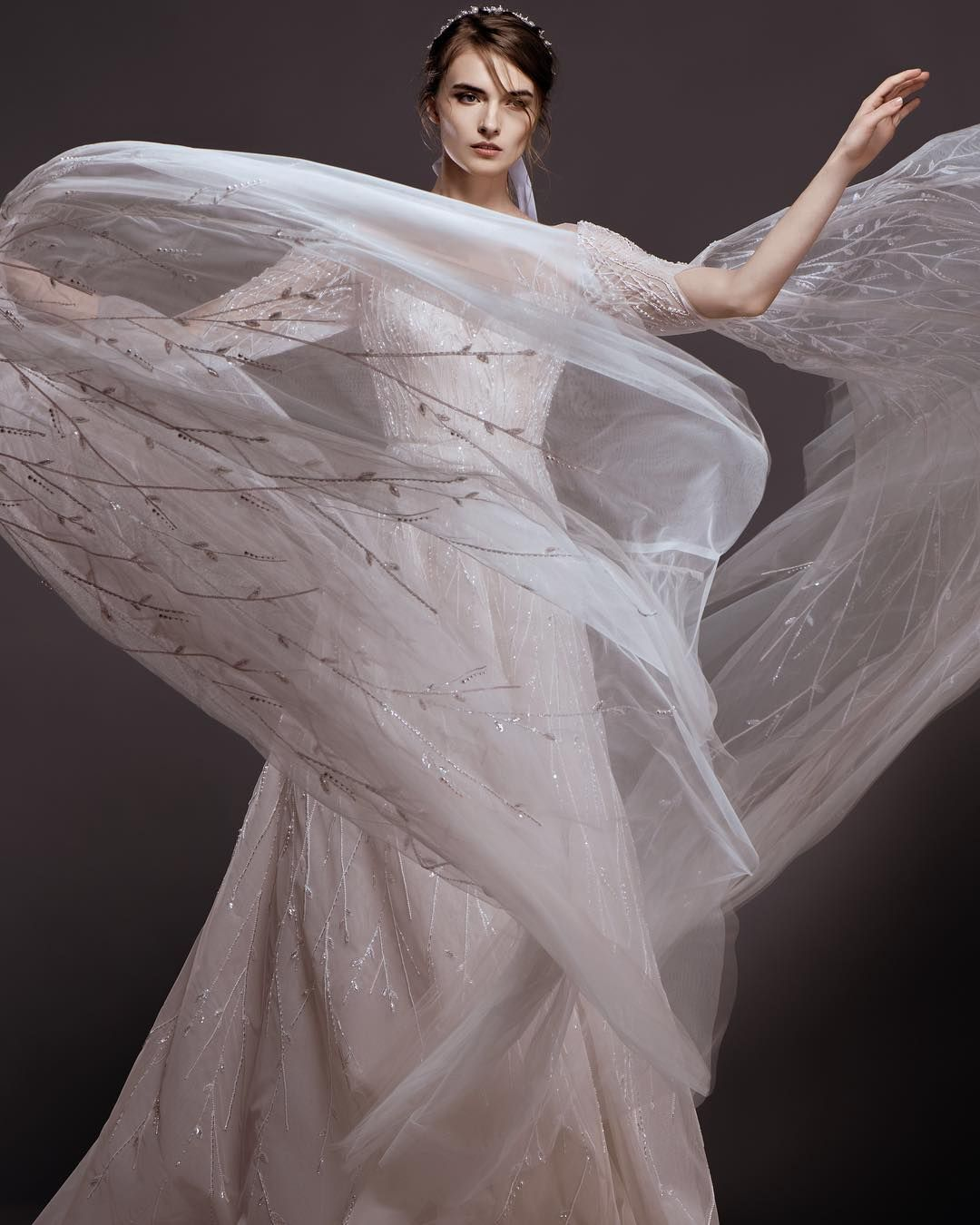 Dreaming of a romantic escape georges hobeika bridal spring summer