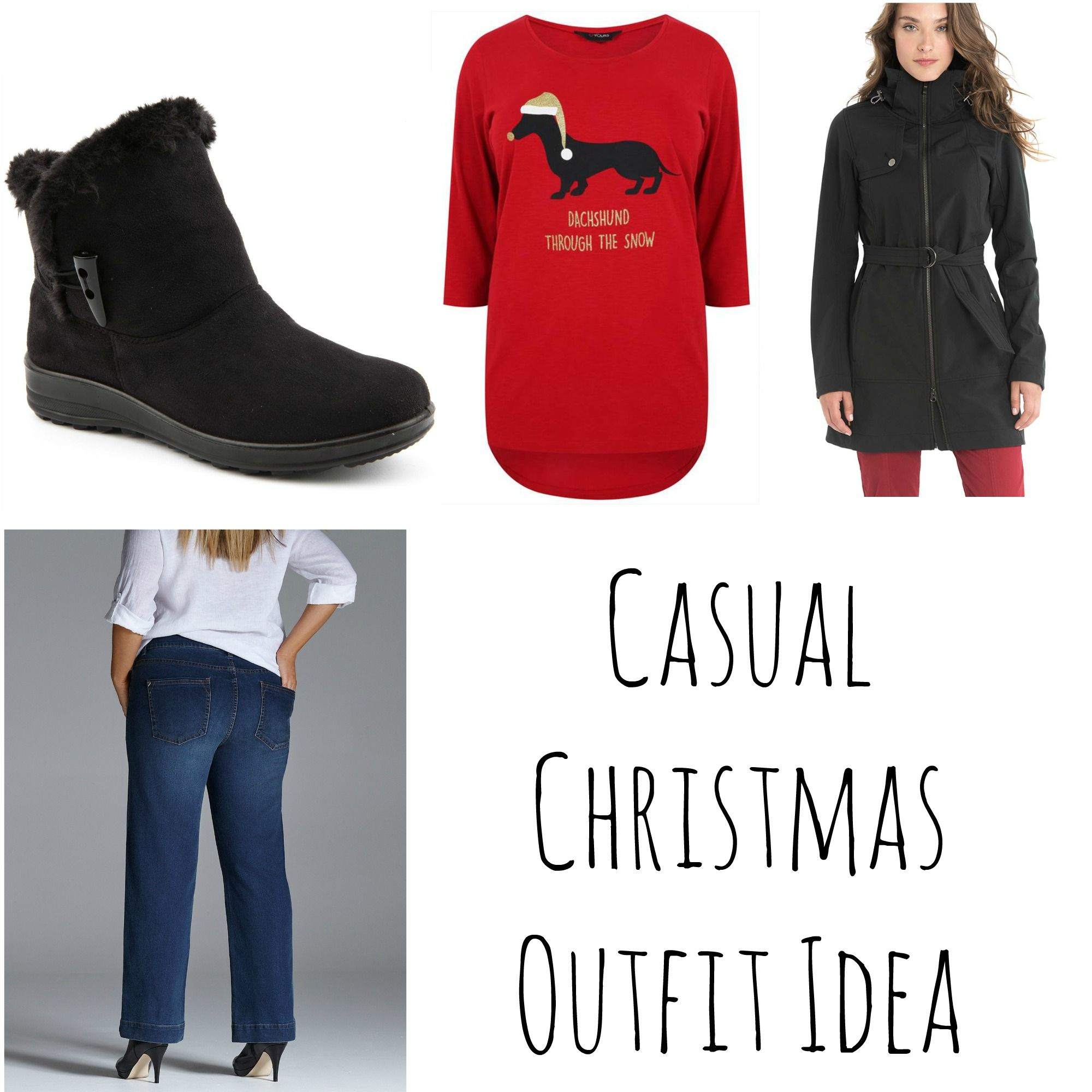 8650308380b Casual Christmas Outfit Idea  fashion  casual  Christmas