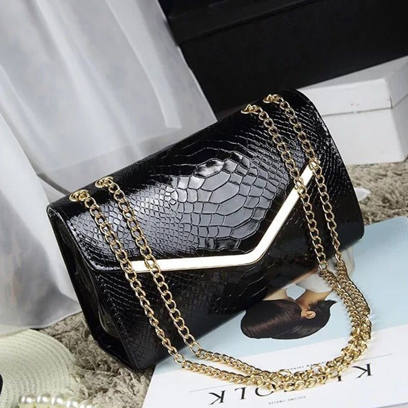 Luggage & Bags Luxury Handbags Women Bags Designer Famous Brand Women Leather Purses And Handbags Chains Shoulder Bags High Quality Tote Bag