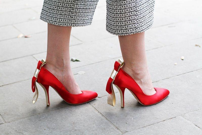 buy online 5338e 97fa3 scarpe rosse | scarpe con il tacco rosse | decollete rosse ...