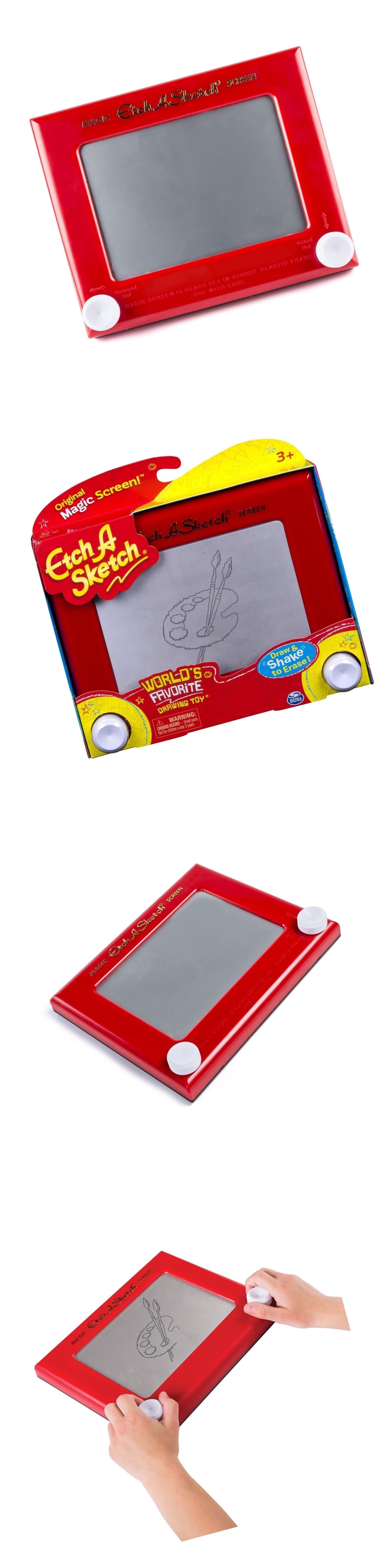 Etch A Sketch Classic Red New Free Shipping