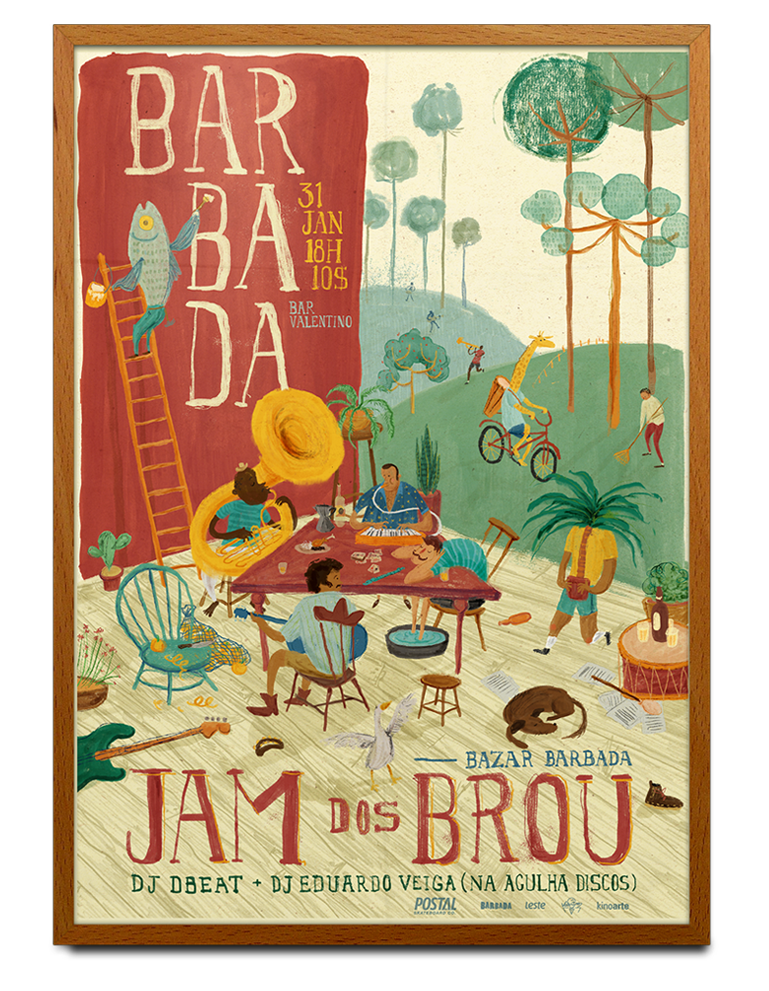 B A R B A D A . Jam dos Brou on Behance