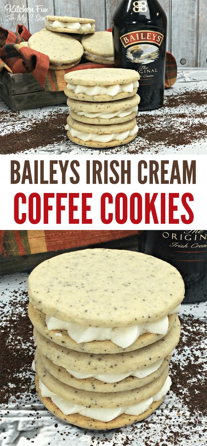 Bailey's Irish Cream Coffee Cookies Coffee recipes