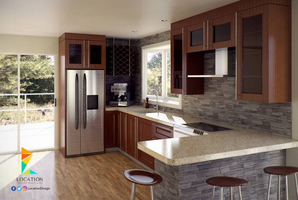 تصاميم مطابخ صغيرة 2017 2018 Cool Kids Bedrooms Kitchen Cabinets House Design
