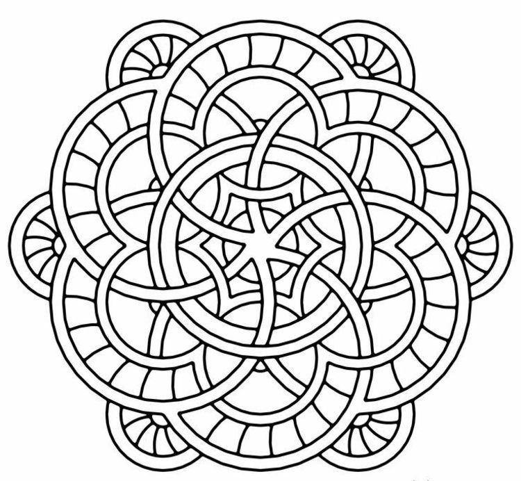 Mandala Vorlagen Kreise Abstrakt Design Ausmalen Relaxen Mandalas Zum Ausmalen Mandalas Zum Ausdrucken Mandala Zum Ausdrucken