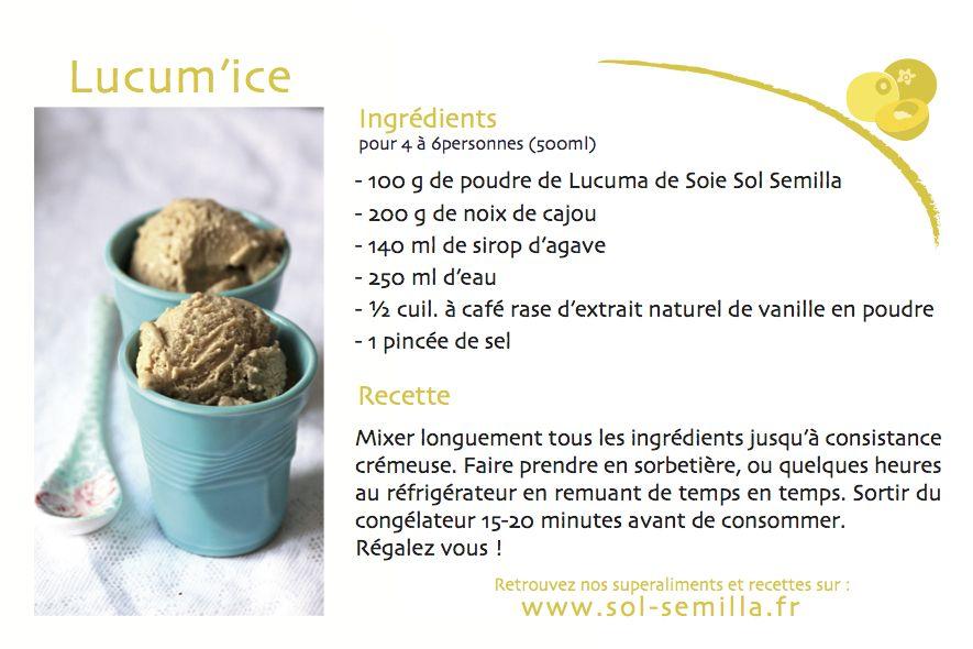 Lucum'ice (le sorbet au superfruit de l'été!) http://ow.ly/yMhor