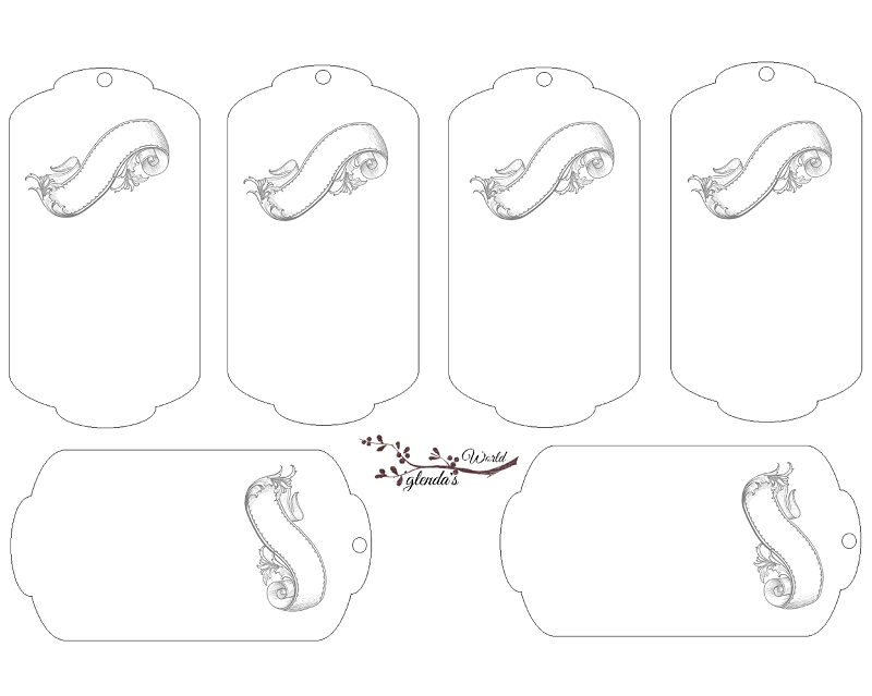 Double scalloped tag templates free download do it yourself today double scalloped tag templates free download solutioingenieria Image collections