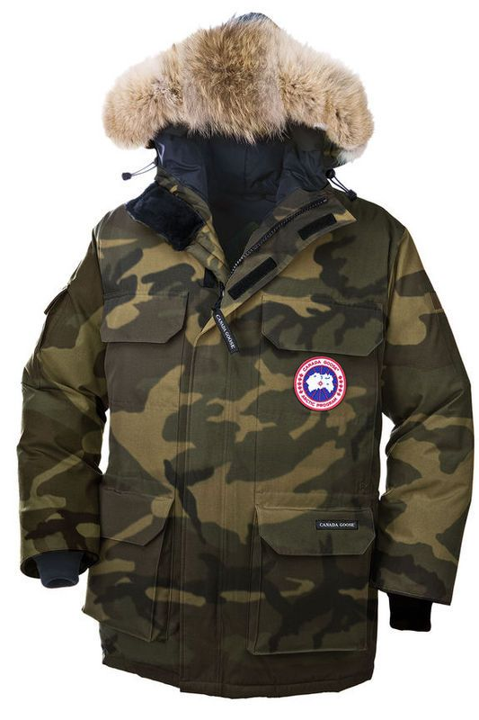 canada goose camouflage gris