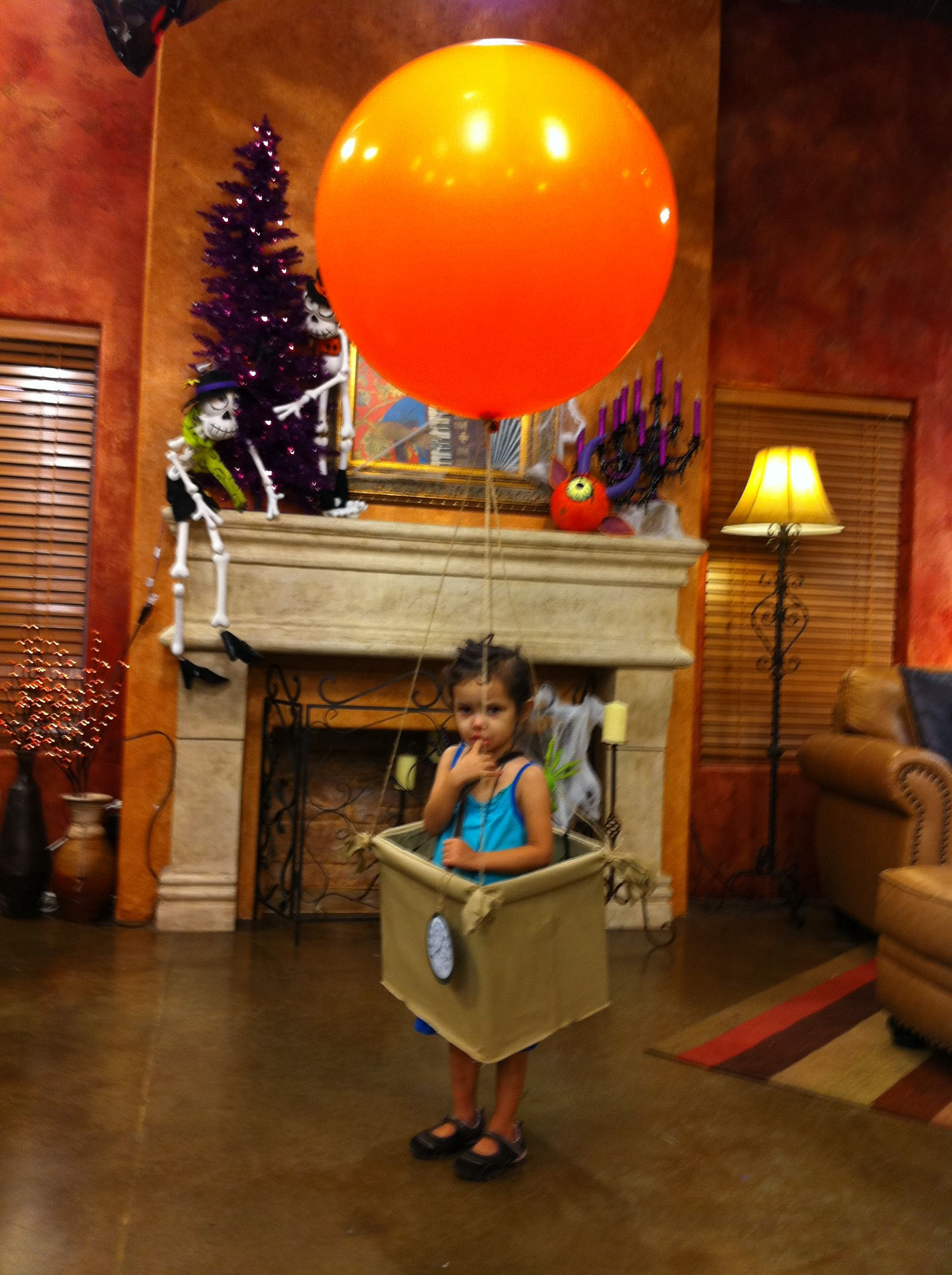 Hot Air Balloon 2011 Halloween Costume Diy halloween