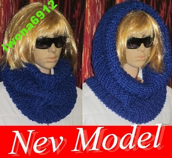 Damski Komin Tuba Szal Szalik Welniany 4798232459 Oficjalne Archiwum Allegro Crochet Scarf Crochet Earrings Crochet