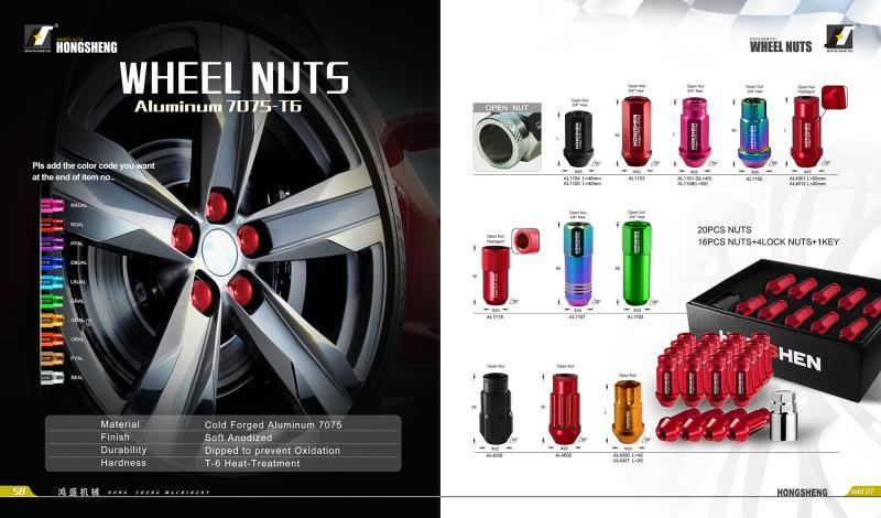 Car Wheel Nuts Wheel Bolts Wheel Locks Lug Nut Stud Bolt Supplier Wheel Lock Stud Bolt Wheel