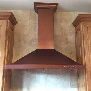 42 Quot Designer Series Wall Range Hood 8kb Copper 42 Quot 650