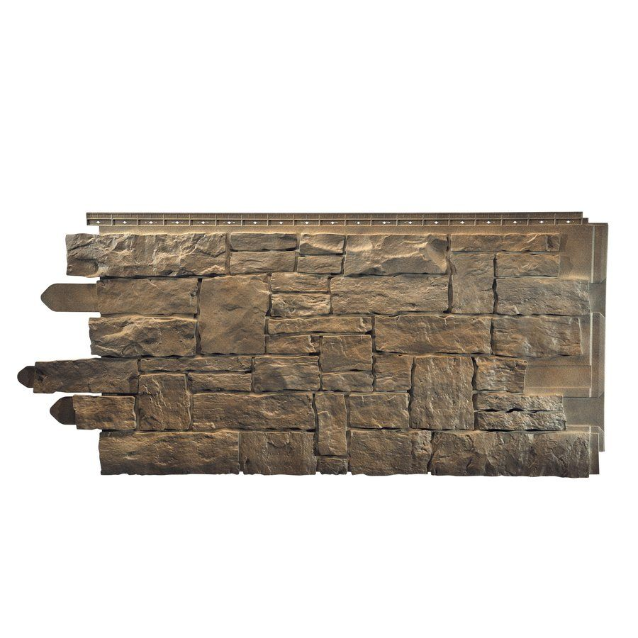 Novik novistone stacked stone panel lowe 39 s canada wren Vinyl siding that looks like stone