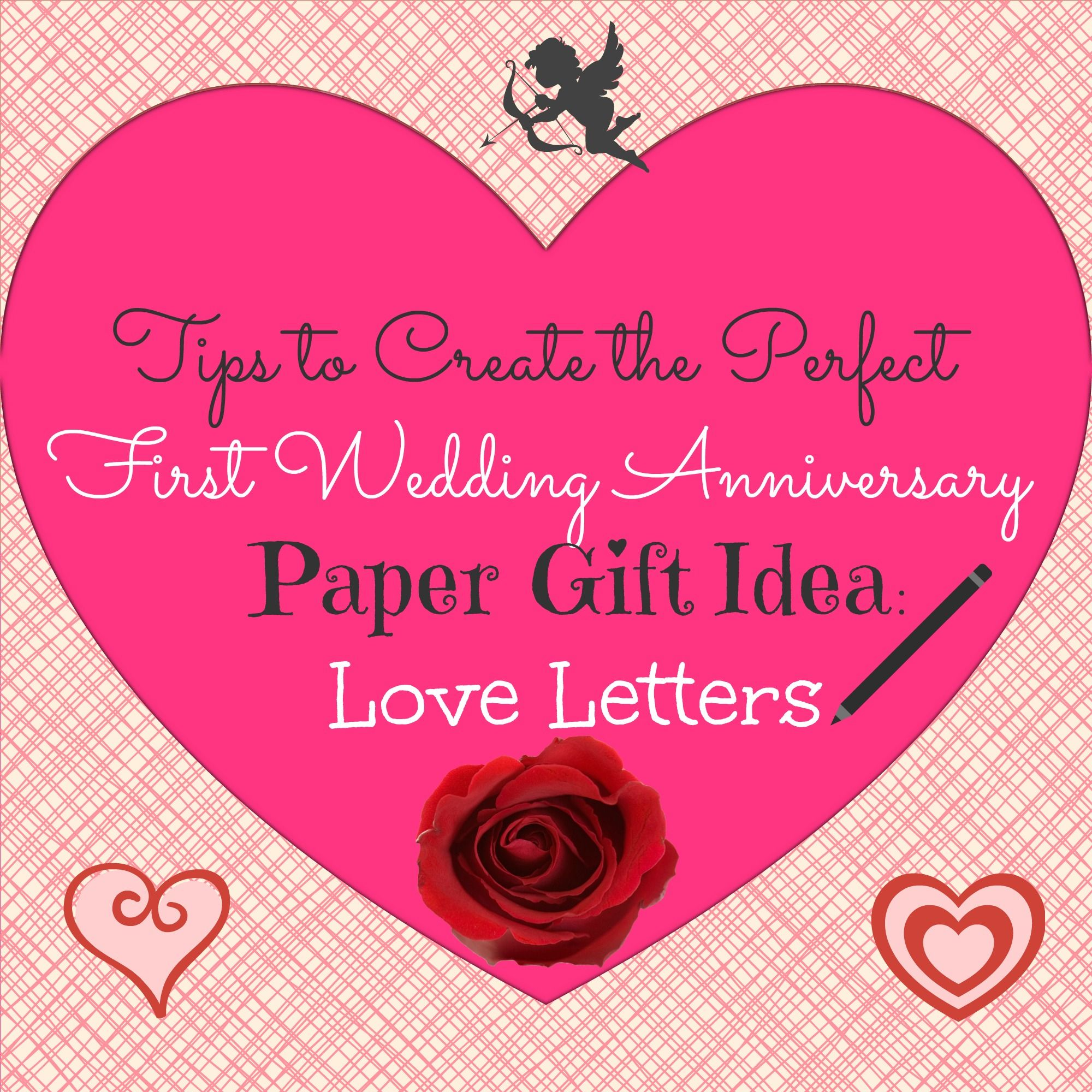 Tips To Create The Perfect First Wedding Anniversary Paper Gift Idea
