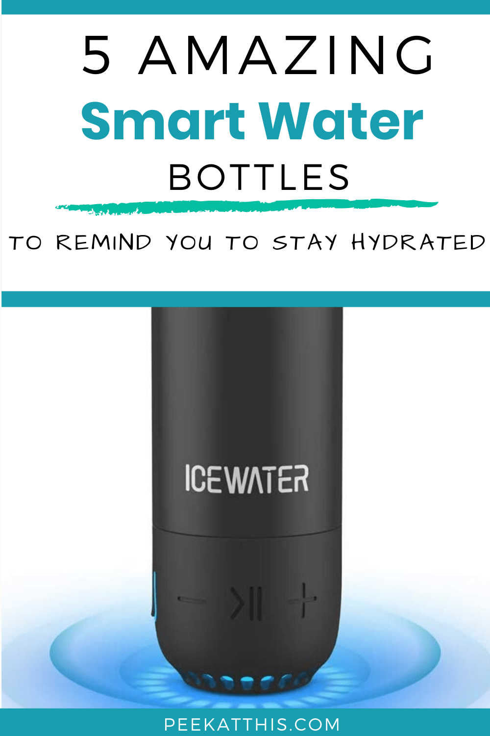 If you are looking for the best water bottle to keep you hydrated throughout the day, then you need...