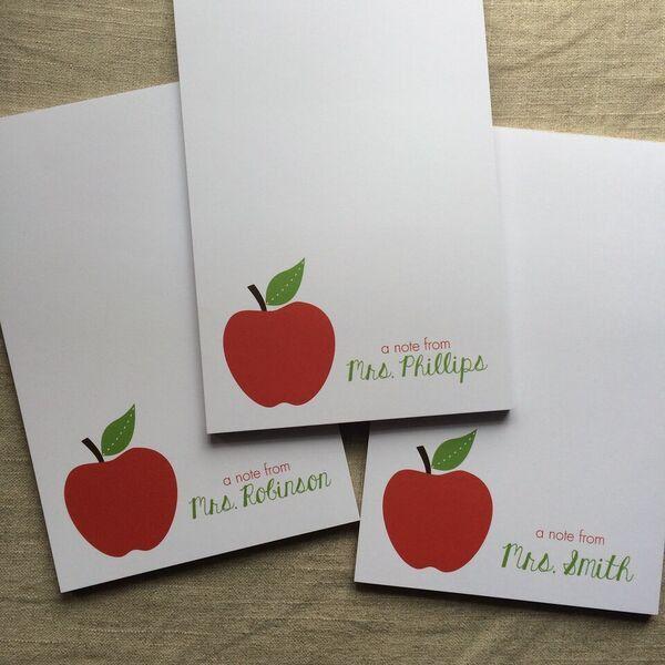 Apple Teacher Notepad Teacher gifts, Holiday gift guide