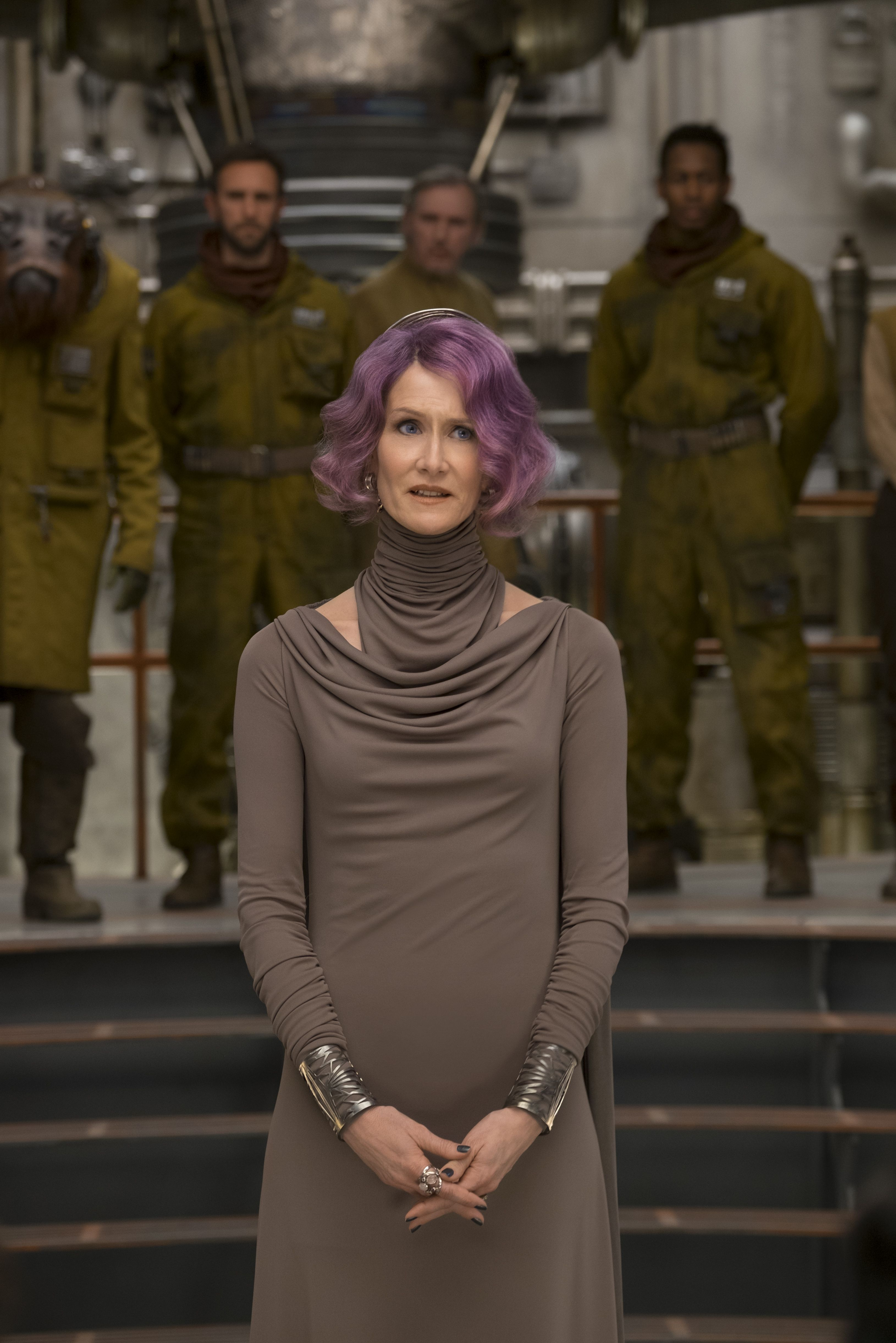Interview Laura Dern On Vice Admiral Amilyn Holdo In Star Wars The