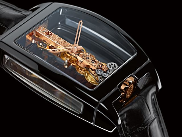 Corum GOLDEN BRIDGE Ceramic Watch - Jewellery & Watches