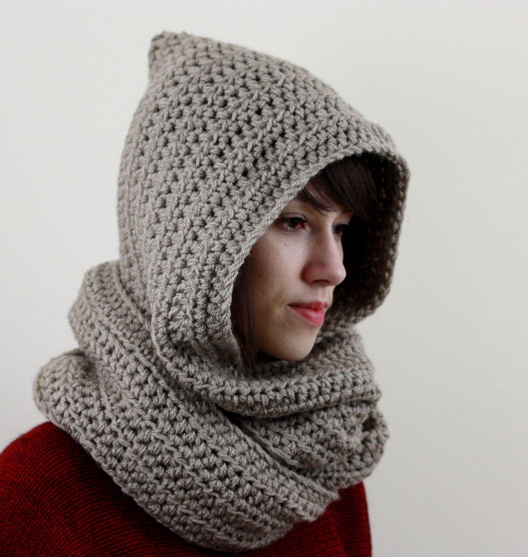 Hooded Scarf Crochet Pattern New Inspiration