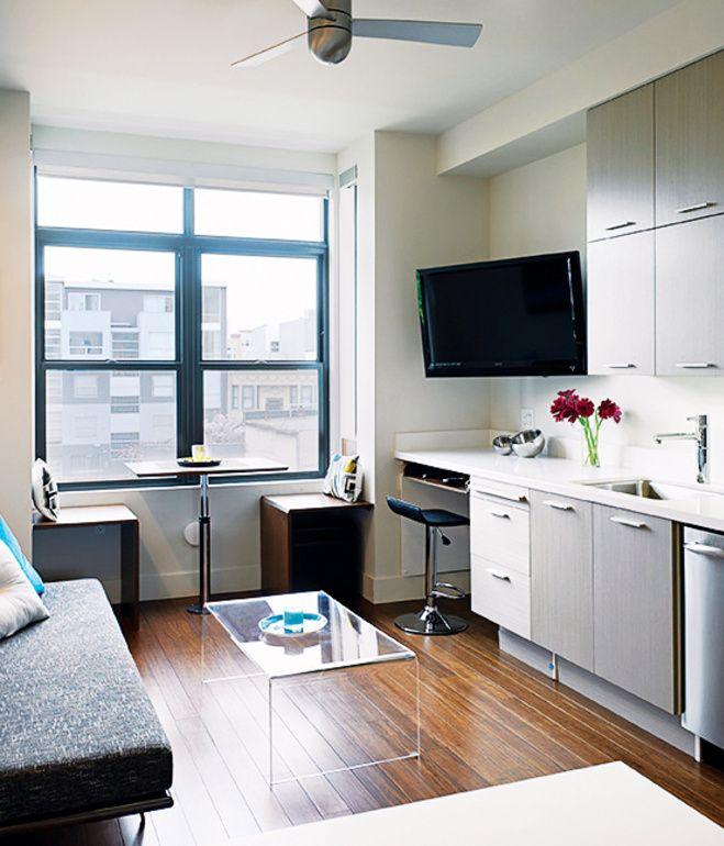 Mini Apartments In San Francisco: Pin On Saving Space