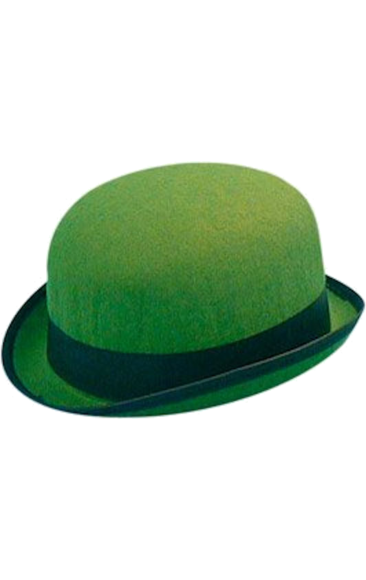 266975cb3bc695 Green Bowler Hat | Cosplay Design: The Riddler | Hats, Bowler hat ...