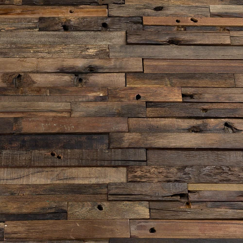 Ivy Hill Tile Timber Brown Beige 11 81 In X 23 62 In X 10mm Wood Mosaic Wall Tile 1 93 Sq Ft Ext3rd101058 The Home Depot In 2020 Wood Mosaic Tile Wood Mosaic Wood Tile Shower