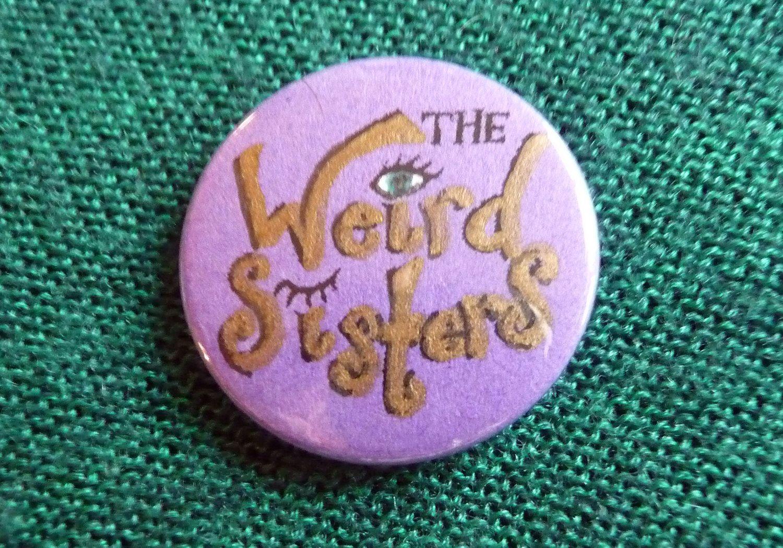 Harry Potter Weird Sisters Button Badge Weird Sisters Harry Potter Characters Harry Potter Aesthetic