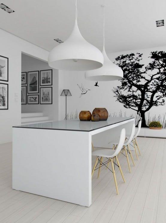 15 comedores de estilo minimalista | Estilo minimalista ...
