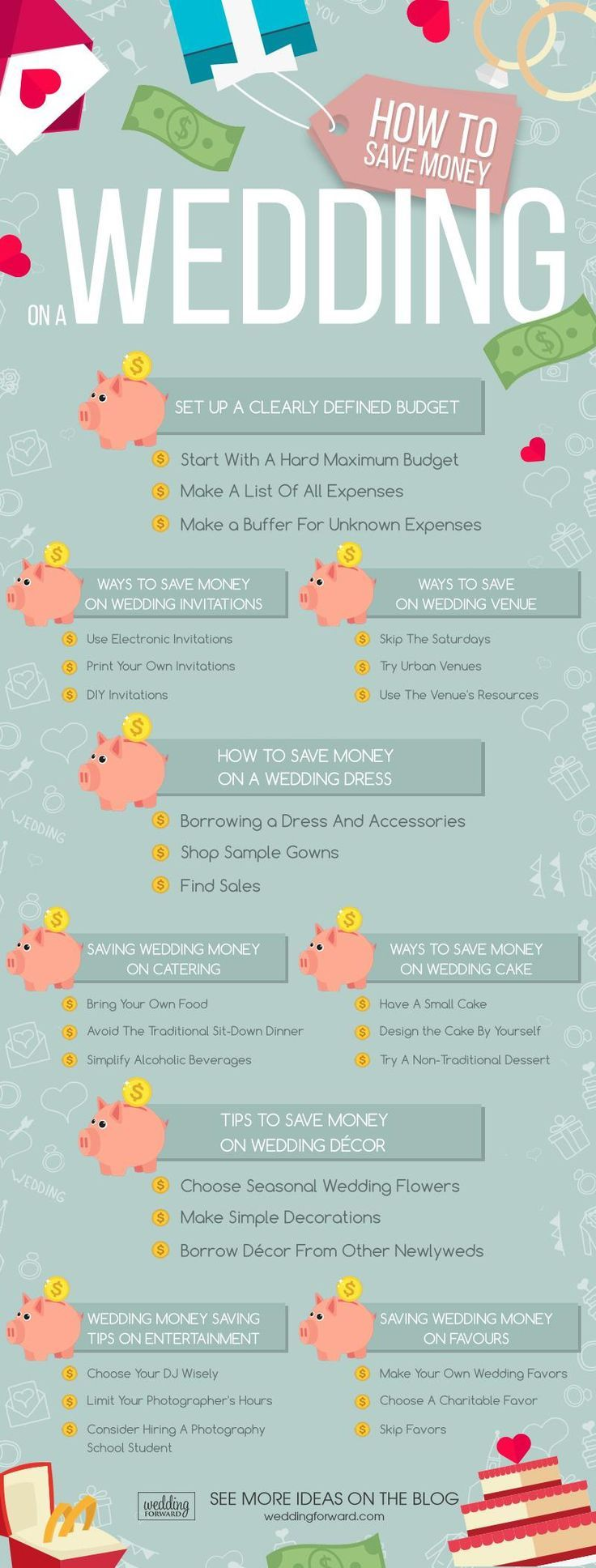 How To Save Money On A Wedding - Top 27 Ways | Wedding Forward