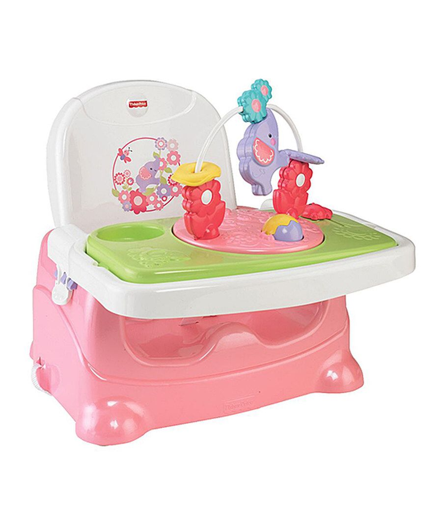 Look at this pink elephant booster on zulily today with