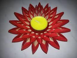 Znalezione obrazy dla zapytania quilling świecznik