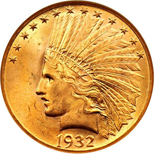 1932 P 10 Indian Gold Ten Dollar Ms65 Ngc You Can Find More Details By Visiting The Image Link This Amazon Pins Is An Affiliate Link To Gold Coins Gold Ngc
