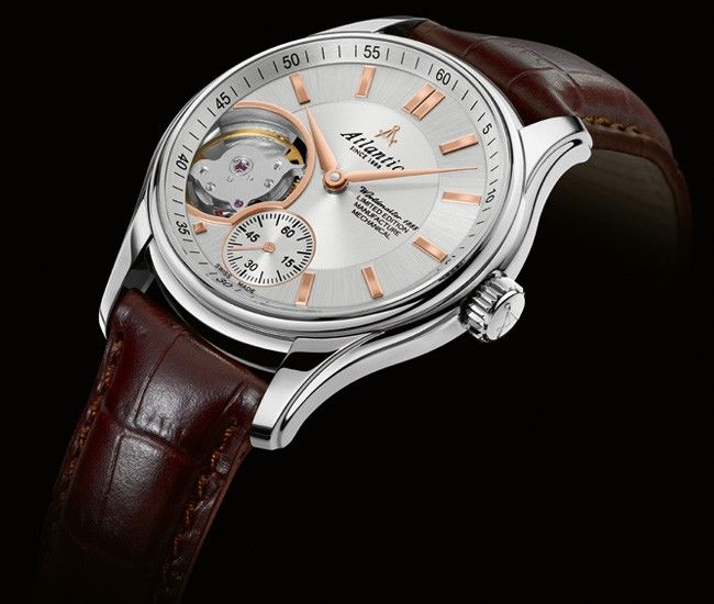 Zegarek Atlantic 52951 41 21r Worldmaster 1888 Lusso Open Heart Mechanical Limited Edition E Watches Swiss Made Watches Watches Swiss Watches