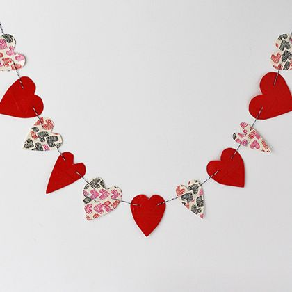 Duct Tape Heart Bunting | Spoonful
