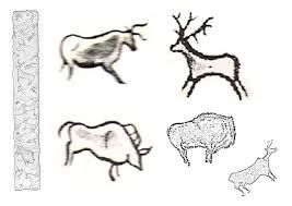 Resultado De Imagen De Dibujos Para Colorear Pinturas Arte Rupestre Arte De La Prehistoria Prehistoria Arte Rupestre