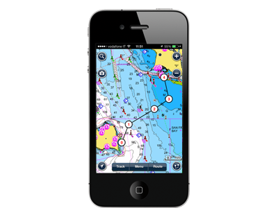 Navionics Marine Europe iPhone app Boat Pinterest