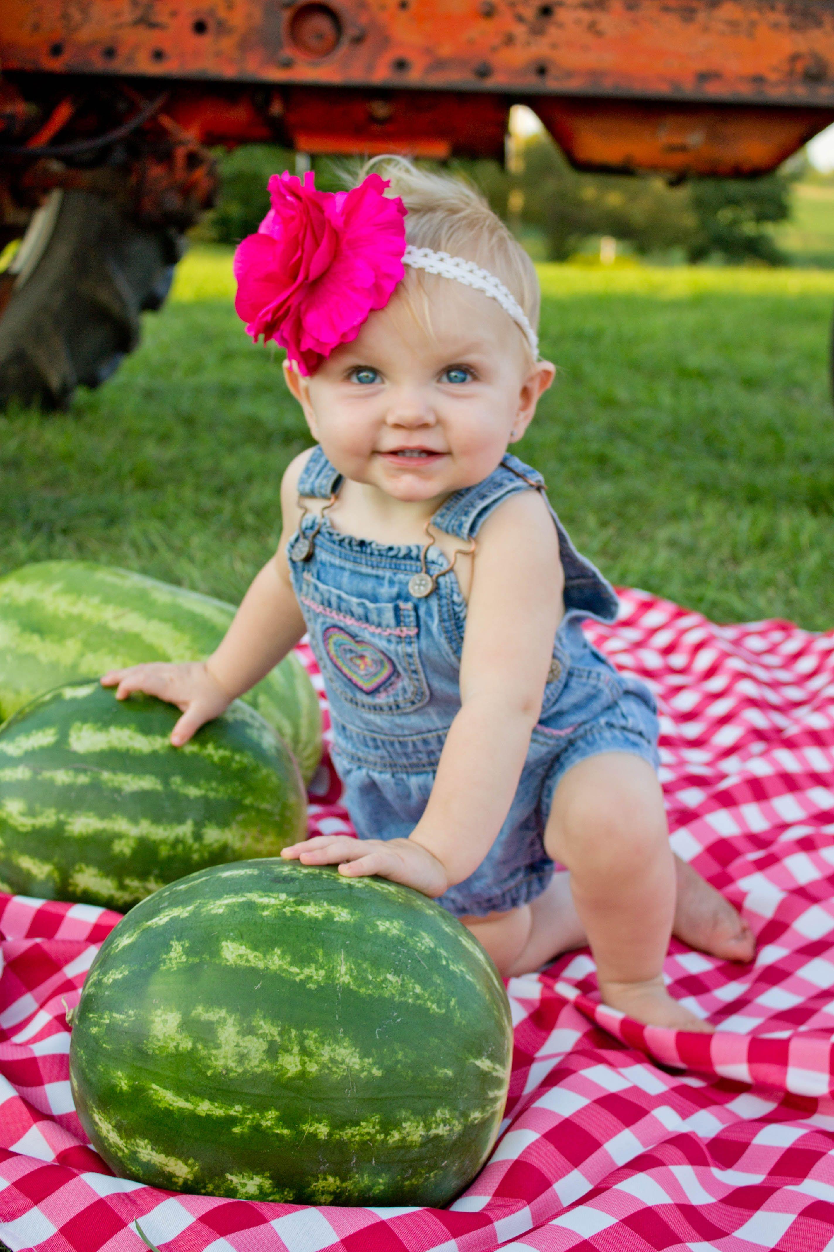 Farm girl 1st bday pic